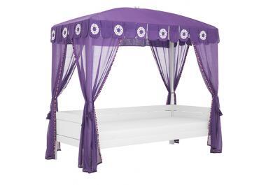 elegant lit baldaquin with lit baldaquin 140x190. Black Bedroom Furniture Sets. Home Design Ideas