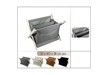 porte revue en bois acheter porte revues en bois en ligne sur livingo. Black Bedroom Furniture Sets. Home Design Ideas
