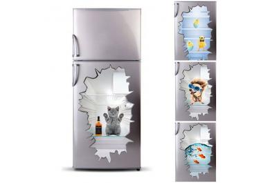 sticker frigo acheter stickers frigo en ligne sur livingo. Black Bedroom Furniture Sets. Home Design Ideas